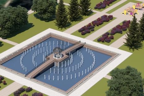Как назвать фонтан в Любашинском саду?