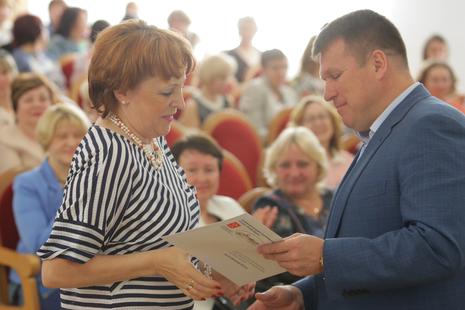 В администрации Калининского района наградили лучших социальных работников
